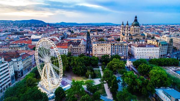 High Above Budapest