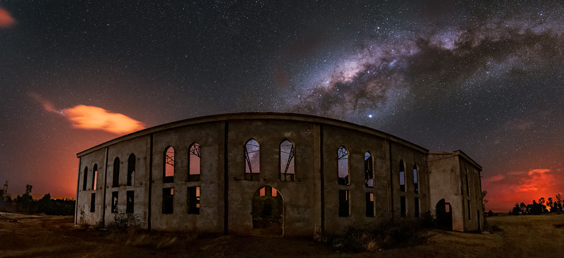 The Unfinished Cathedral Panorama
