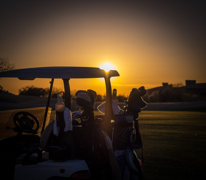 Sundown for Golfers