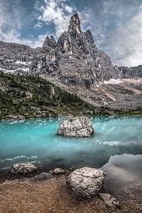 Lago di Sorapiss & Dito di Dio