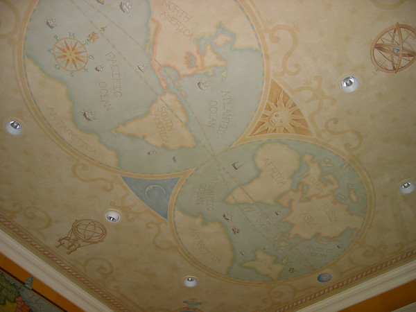 Ceiling 8 BoppArt Decorative Painting