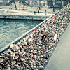 Locks on the Seine - Paris