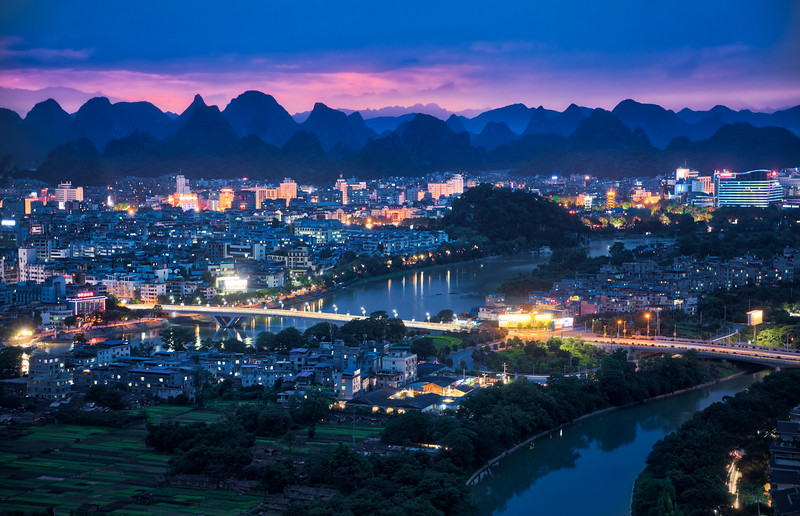 A Moody Night In South China