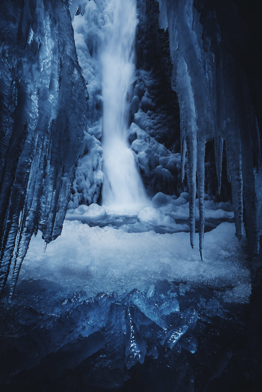 Winter At Oneonta Gorge, Oregon