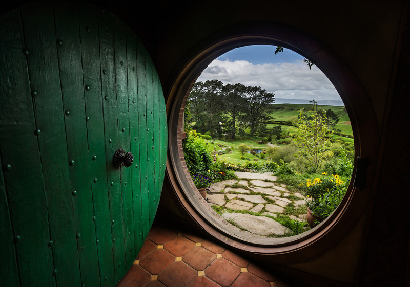 Inside The Hobbit Hole Of Bilbo Baggins
