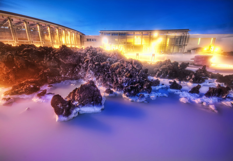 "<h2>The Milky White Geothermal Occurrence</h2> <br/>Can you imagine dipping your toes into that and getting inside for a nice warm soak?  It's wild!  It's hard to describe how wild it really is.  There is a whole complex behind there with lockers, showers, a restaurant, and this sort of thing.  The design inside is all Scandinavian and modern.  They have private rooms you can rent that are swim-up.  I met a nice couple from Colorado and they invited me into theirs.  It was filled with food and all kind of things -- it reminded me of a James Bond evil lair.  Next time I go, I'm gonna get one of my own!  I checked on the prices, and they were relatively cheap, even back before the economy collapsed there.<br/><br/>- Trey Ratcliff<br/><br/><a href=""http://www.stuckincustoms.com/2009/07/24/the-milky-white-geothermal-occurance/"" rel=""nofollow"">Click here to read the rest of this post at the Stuck in Customs blog.</a>"