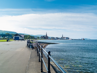 Largs Town from North Promenade