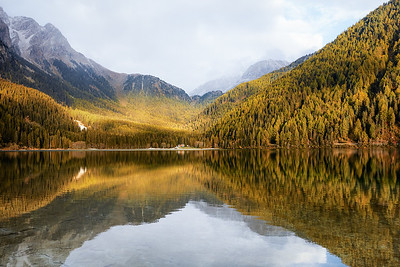 Lake Anterselva I Italy