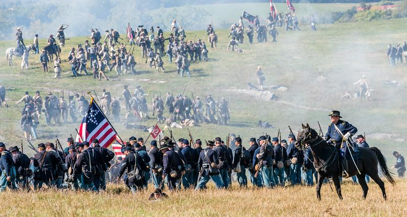 Following the Confederate Retreat