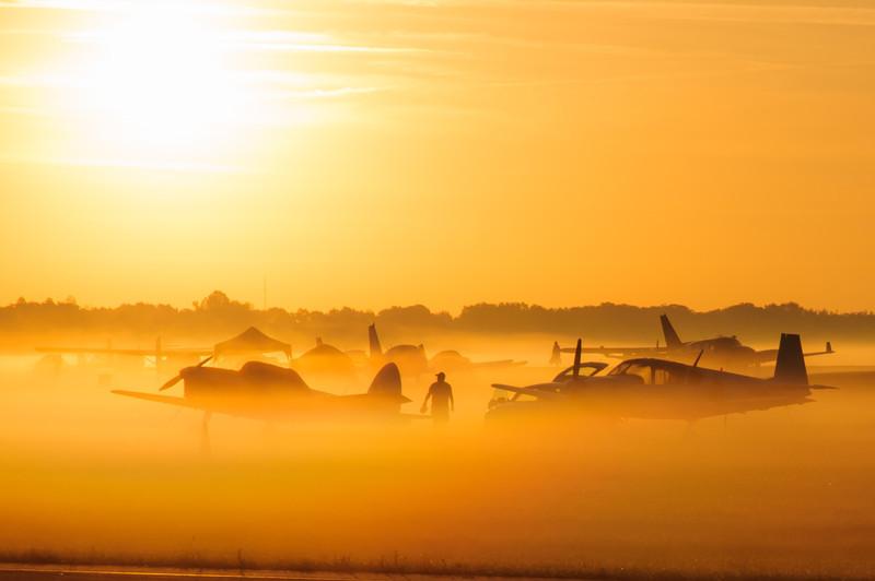 Morning Ground Fog
