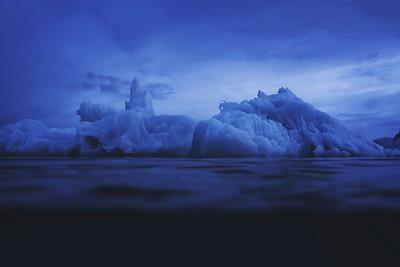 Jökulsárlón, Iceland Underwater
