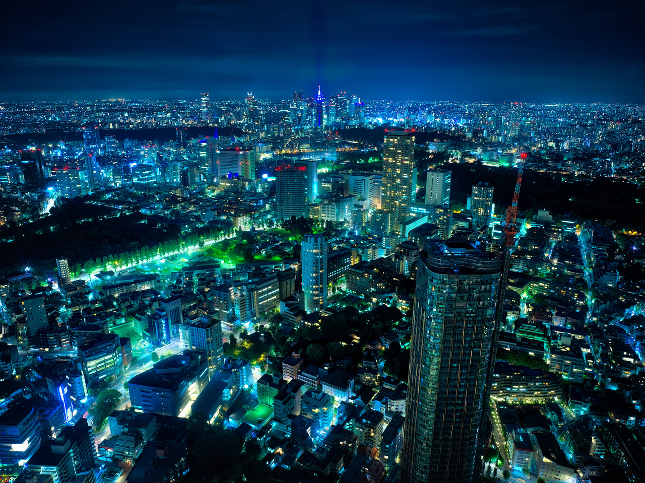 A Blue, Blue Night In Tokyo