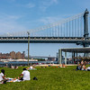 Manhattan Bridge Sunbathers