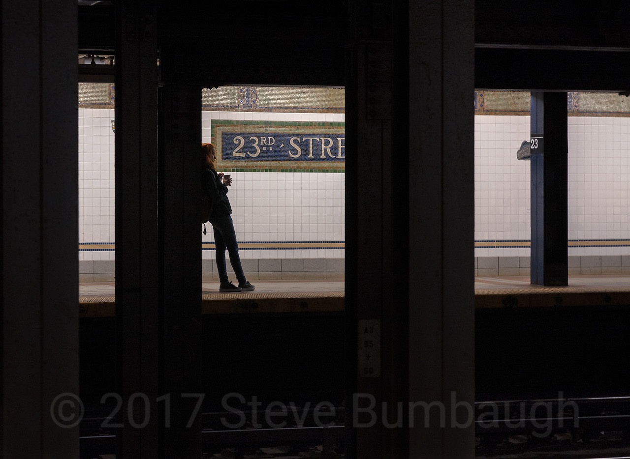 23rd Street Silhouette