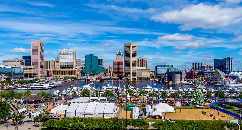 Baltimore & its Inner Harbor