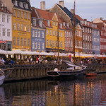 Nyhavn at sunset, Copenhagen (2020)