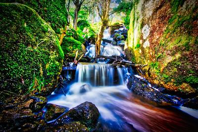 A Stream through the rocks