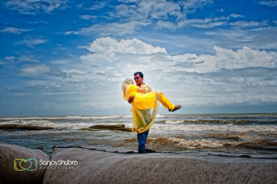 Seaside Candid Couple Shoot By Sanjoy Shubro