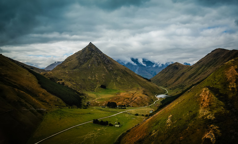The Conical Mountain