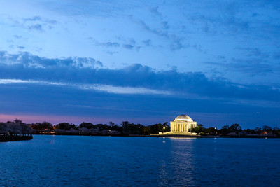 Sunrise over Tidal Basin