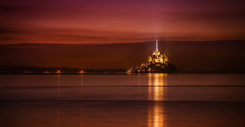 "<h2>Mont Saint Michel in Repose</h2> <br/>I can't wait to go back to this place! I really hope that I do. This amazing island-monastery has various degrees of ""islandness"" depending upon the time of day. I think next time I go I will plan out the tides even better so I am sure to get more shots from various angles.<br/><br/>I also read on a few sites that there is ""quicksand"" out there… and if you go the wrong way to take a photo, you can get stuck in the quicksand! I think that sounds like one of the worst possible things in the world… so I was a little scared to go try. There was no one to throw me a vine, like in the cartoons…<br/><br/>- Trey Ratcliff<br/><br/><a href=""http://www.stuckincustoms.com/2013/07/16/mont-saint-michel-in-repose/"" rel=""nofollow"">Click here to read the rest of this post at the Stuck in Customs blog.</a>"