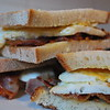 Day -5 08/01/2011 Bacon & Egg Sandwhiches