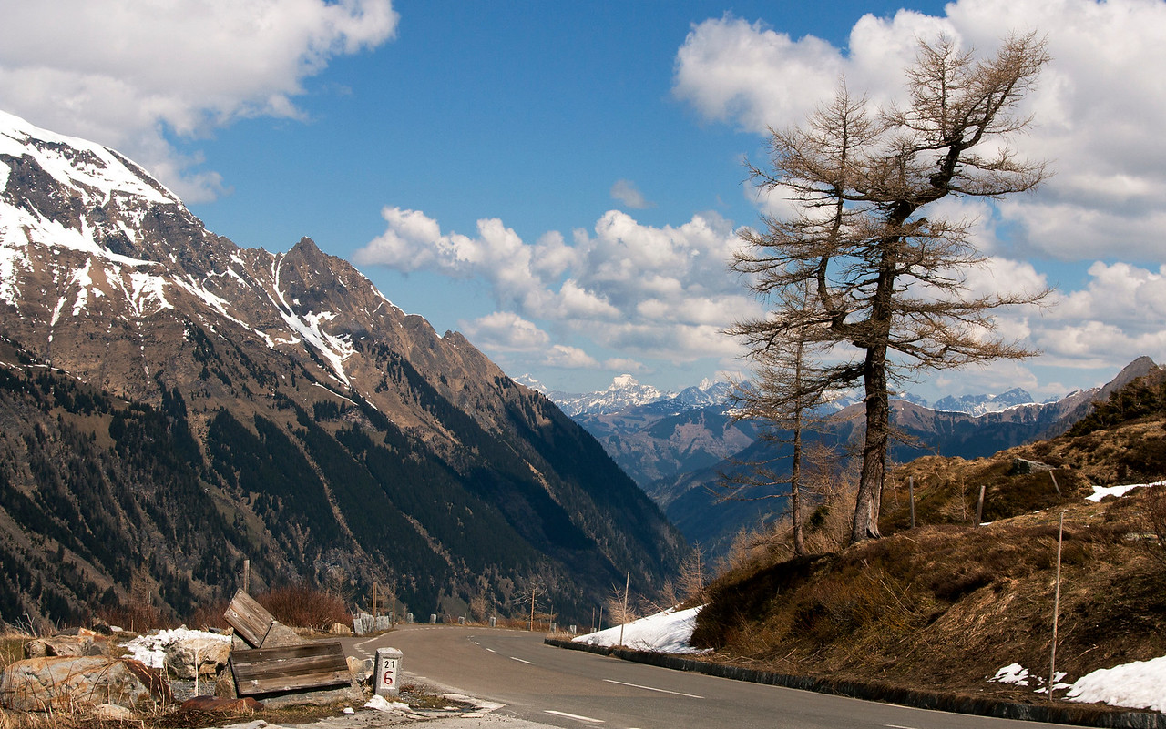 The Grossglockner high alpine road, Austria