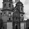 Church Wedding 2 - Cusco Peru - Black & White