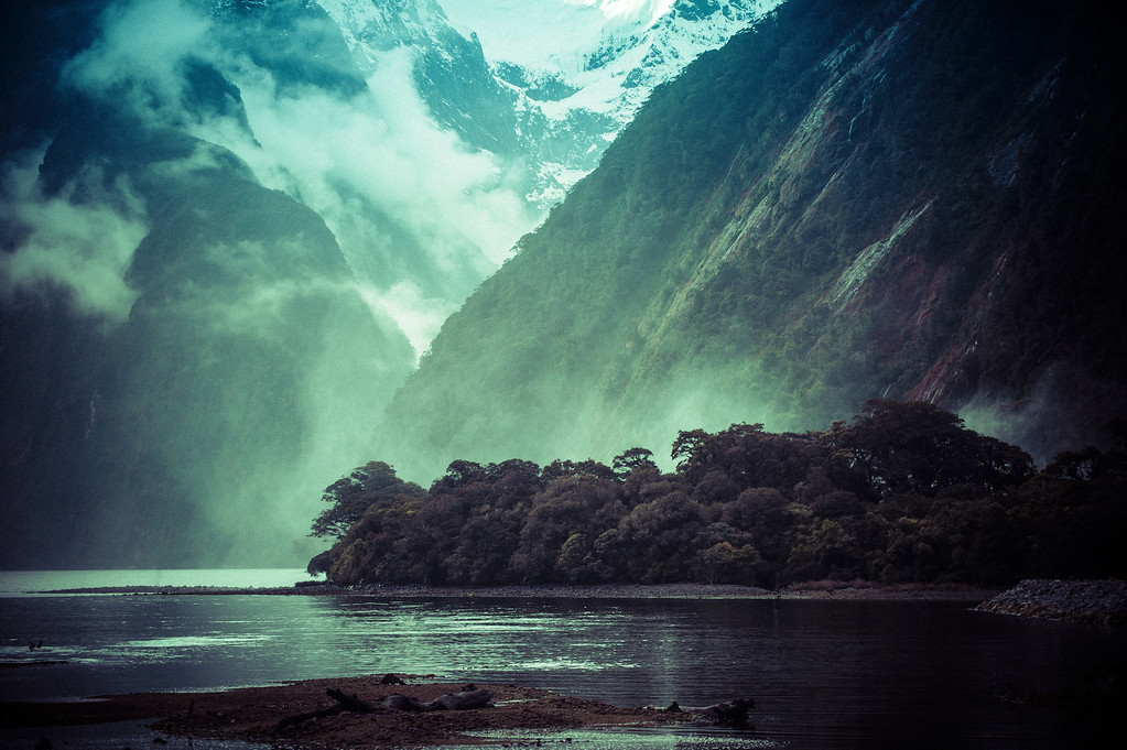 The Milford Sound Spray People are sometimes disappointed when they come to Milford Sound and it is raining, but that is really one of the best times! The waterfalls go absolutely crazy, and there are, in my opinion, more interesting photos to be taken than in the sunshine. Of course, it's a very different kind of photo, but you really can't go wrong.There are a few boat cruises that go out into the sound and the ocean as well… those are all highly recommended. If you see Eric Lim from Southern Discoveries, be sure to tell him hello from Trey! - Trey RatcliffClick here to read the rest of this post at the Stuck in Customs blog.