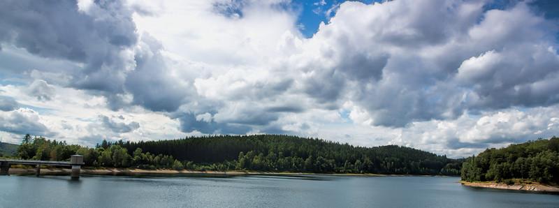 Siegerland Talsperre Skies