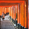 The Tunnels of Fushimi Inari
