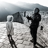 Scarlett In China On The Great Wall