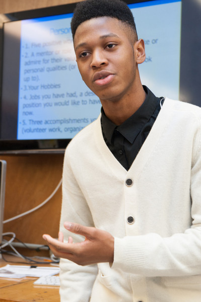 Per Scholas IT Career Pathways for Youth participant