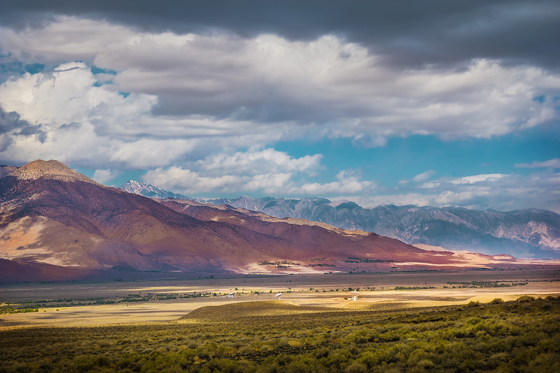 The Alien Landscape of the Eastern Sierra (California)