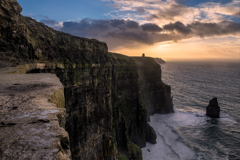 On The Edge At The Cliffs Of Moher