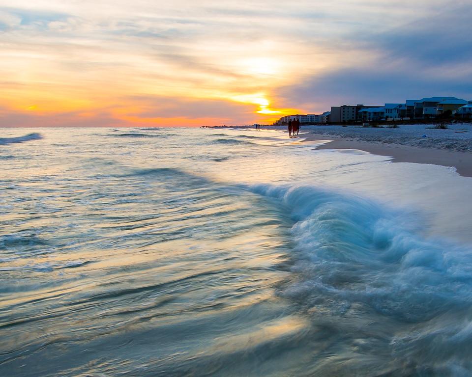Beautiful Bama Orange Beach Sunset