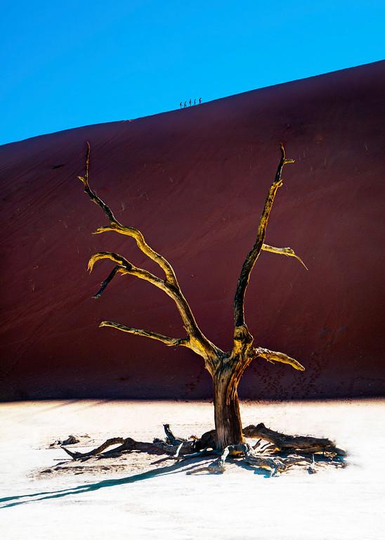 Hiking in Namibia