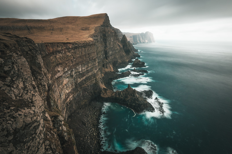 Dreamy Cliffs of Suduroy, Faroe islands