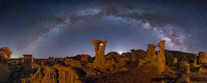 Alien Throne Panorama