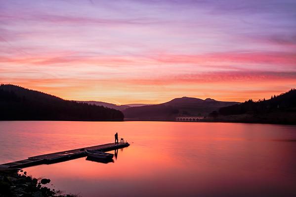 The Fisherman - Ladybower Reservoir - Peak District National Park
