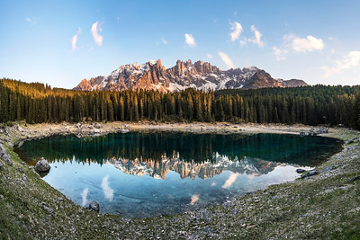 Lago Carezza Panorama