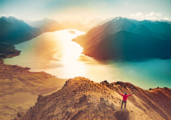 On Top Of The World In New Zealand