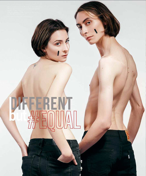 Different but #EQUAL