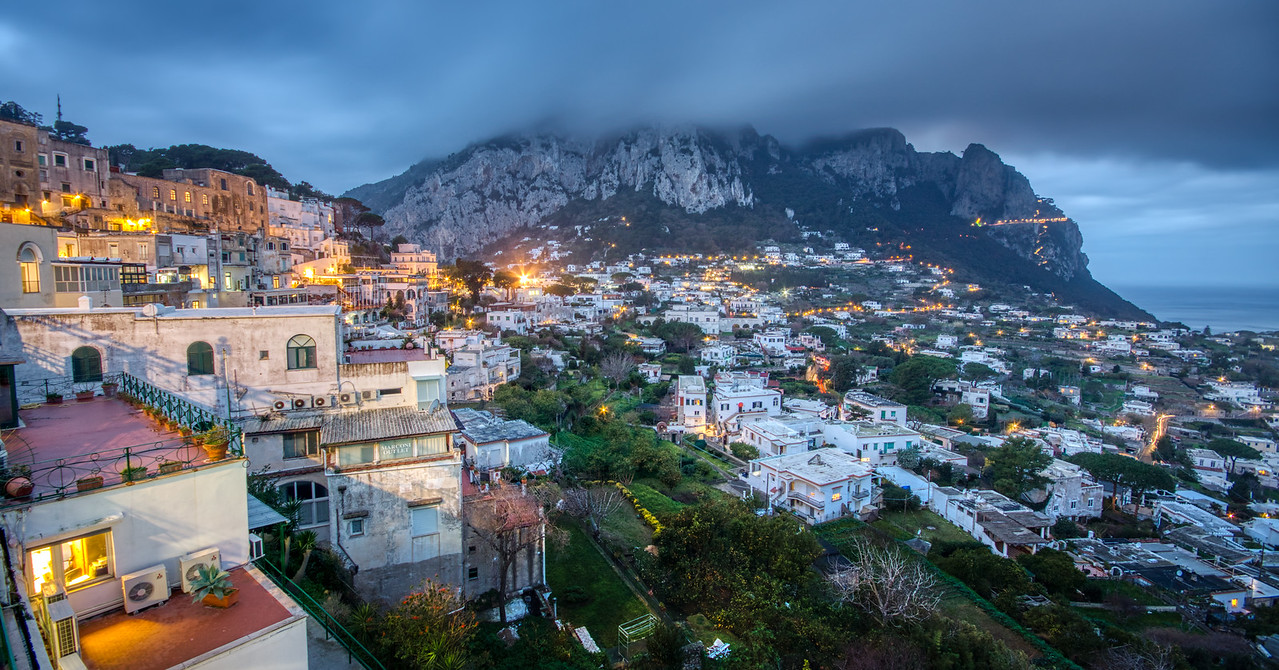 Capri at Night