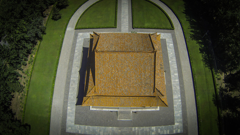 Ming Tombs From Above