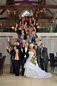 Wedding photography at the Church Restaurant in Northampton