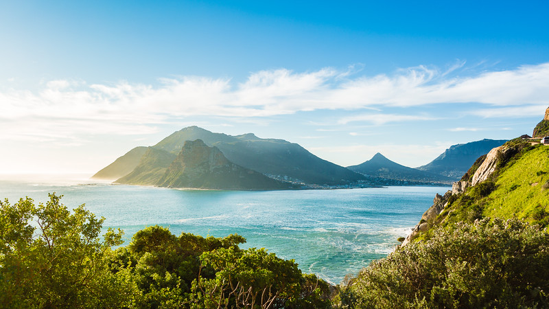 The view from Chapman's Peak Drive, Cape Town