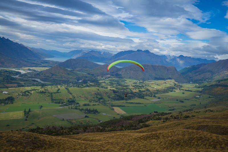 Paragliding In Queenstown!