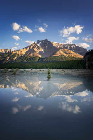 Perfect Symmetry in the Canadian Rockies