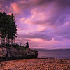 Purple Sunset (Gaspe)